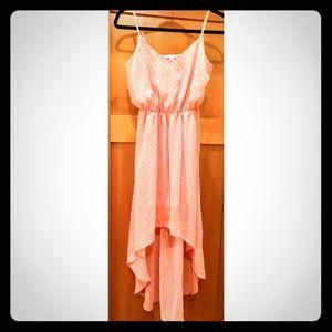 NWOT Soprano High-Low Polka Dot Summer Dress